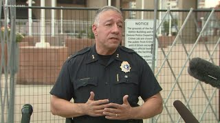 Denver Police give update on shooting near dueling rallies