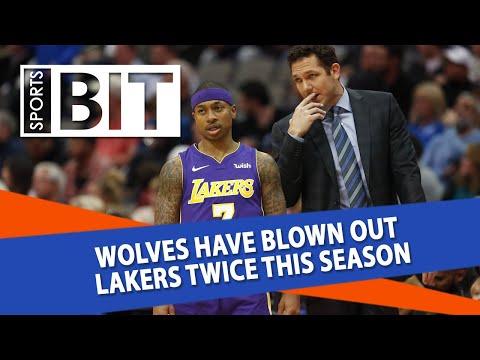 Los Angeles Lakers at Minnesota Timberwolves | Sports BIT | NBA Picks