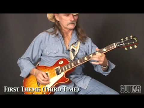 Dickey Betts: In Memory of Elizabeth Reed Guitar Lesson