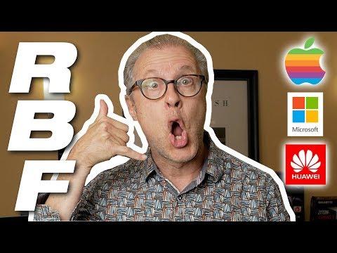 RBF#18- Apple fashion fail? Microsoft warning? Pronounce Huawei?