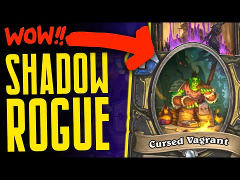 SHADOW ROGUE HAS SO MUCH VALUE!! - Ashes of Outland - Hearthstone