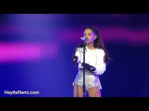 Ariana Grande Sings Harmonies With Mimu Gloves, San Jose April 12th, 2015 - HeyItsRemi.com