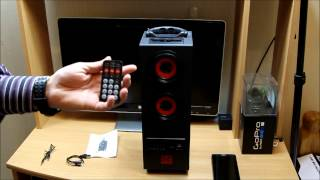 PSYC Torre Bluetooth Tower Speaker Stand - 2.1 Bluetooth Portable Loud Speaker Detailed Review