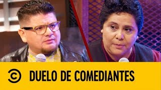 Download Adriana Chávez VS Javier Villalvazo | Duelo De Comediantes | Comedy Central LA Mp3 and Videos