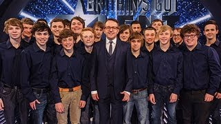 Only Boys Aloud Welsh choir - Britain's Got Talent 2012 Final - International version
