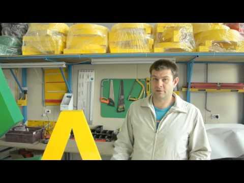 Как изготавливаются объемные буквы
