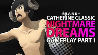 Catherine Classic - Underground Cemetary - HARD PC Gameplay Part 1 (lets play walkthrough)