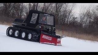 mudd ox the boss snowplow revolutionizing utv s