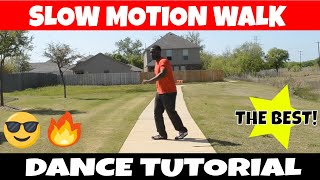 SLOW MO WALK TUTORIAL //ANIMATION TUTORIAL //DANCE TO DUBSTEP