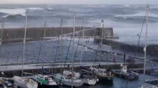 Banff & Macduff Scotland,  storms December 5, 2013