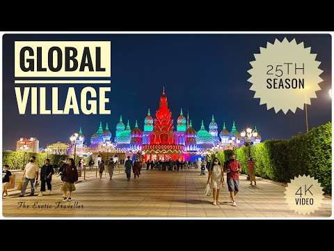 GLOBAL VILLAGE 2020 – 21 | Season 25 | Full Tour in 4K | Dubai Global Village Tour | 25Th Season