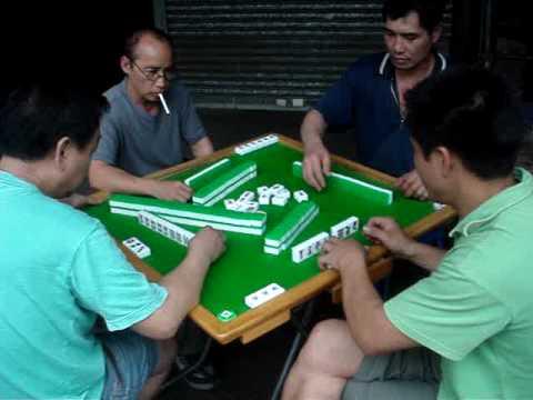 Mahjong, Streets Game, 麻将, 香港, Mah Jong