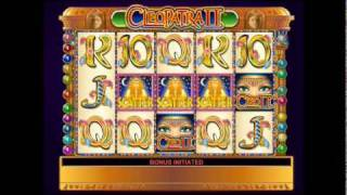 Cleopatra® II Online Video Slots by IGT - Game Play Video