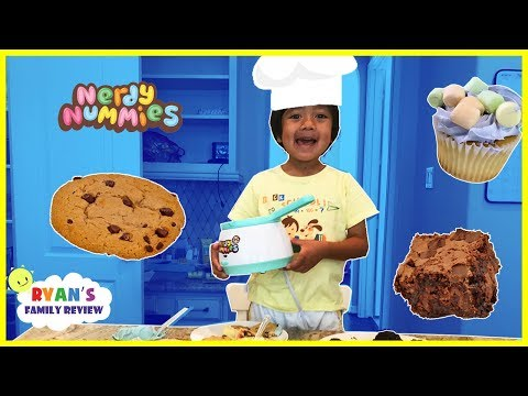 Thumbnail: Kids Fun Baking Cookies and Brownie with Ryan's Family Review