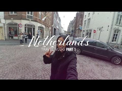 Netherlands Travel Vlog   Part 1 ✈