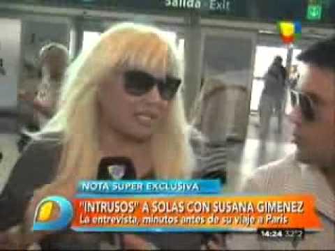 """Susana Giménez se fue a Francia con Marley, pero antes habló del caso Nisman: """"Estoy aterrorizada"""""""