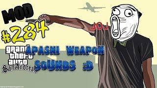 Обзор модов GTA San Andreas 284 Apasni Weapon Sounds D