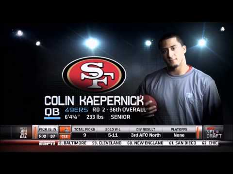 San Francisco 49ers Draft 2011 - First 5 Picks