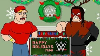 Happy Holidays from WWE