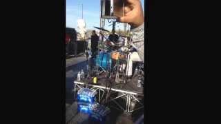 Baterista Proyecto X - soy 7-5/el lichi en Vivo 2014