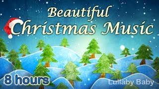 ✰ 8 HOURS ✰ CHRISTMAS MUSIC Instrumental ✰ Christmas Songs Playlist ✰ Peaceful Piano ✰ Best HD video