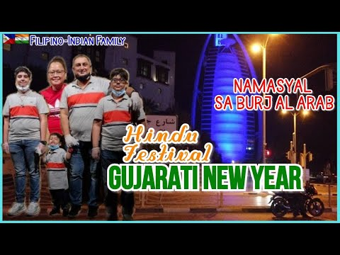 LIFE IN DUBAI:NAMASYAL SA MAY BURJ AL ARAB II GUJARATI NEW YEAR II Filipino-Indian Family Vlogs