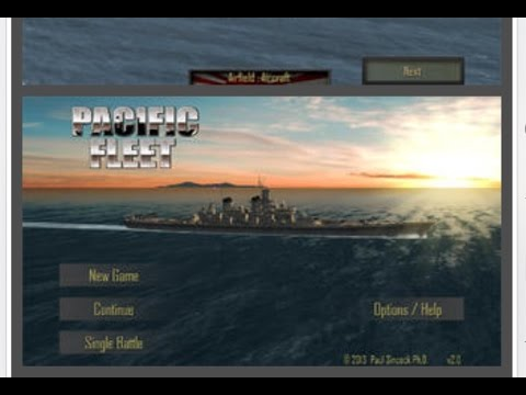 • Pacific Fleet Gameplay• ( Iphone & iPad )