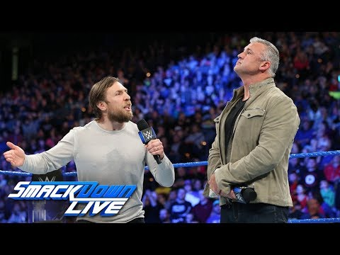 Shane McMahon calls out Daniel Bryan: SmackDown LIVE, Nov. 28, 2017