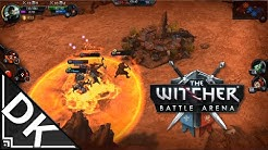 The Witcher Battle Arena - Android gameplay (Nvidia SHIELD Tablet)