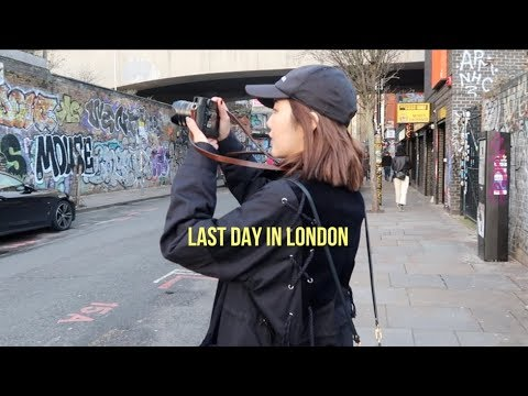 LONDON VLOG: Markets & Vintage Shops in Shoreditch