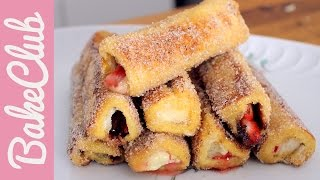 Nutella French Toast Rolls | Bakemyday