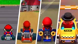 Evolution of Mario Courses in Mario Kart Games (1992 - 2019)