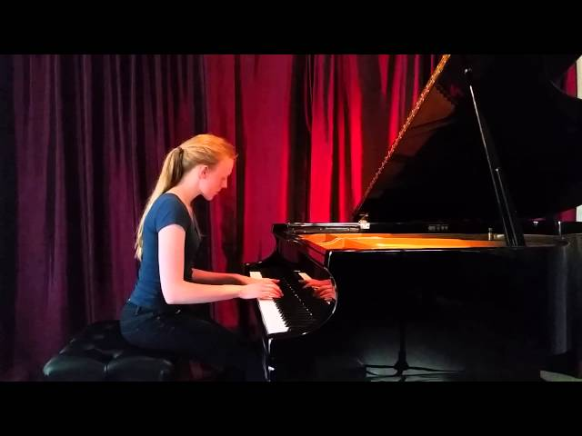 Simone (Chopin) | Cours de piano Montreal | Music lessons Advanced : Simone joue Chopin