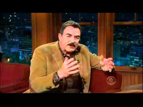Craig Ferguson 1/5/12C Late Late Show Tom Selleck XD