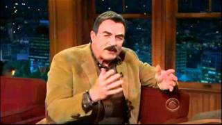 Craig Ferguson 1/5/12C Late Late Show Tom Selleck XD