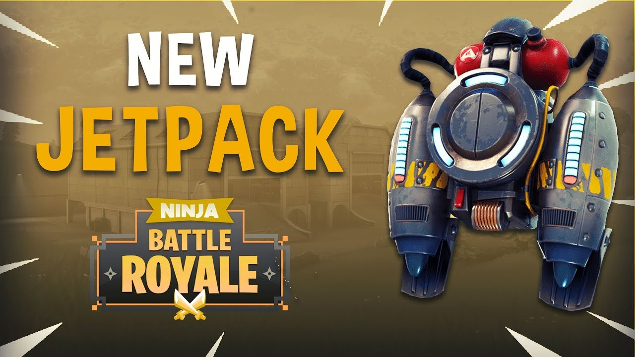 New Jetpack Fortnite Battle Royale Gameplay Ninja Youtube