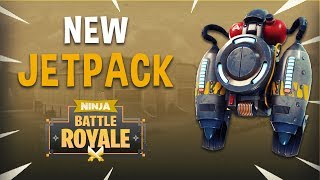 New Jetpack! - Fortnite Battle Royale Gameplay - Ninja