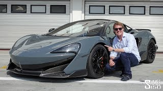 THIS is the New McLaren 600LT!   TRACK TEST