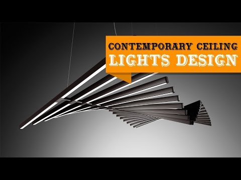 55 Modern Amp Contemporary Ceiling Lights Ideas Youtube