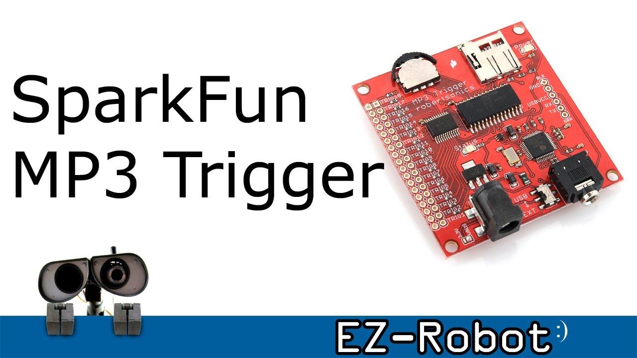 SparkFun MP3 Trigger NEW