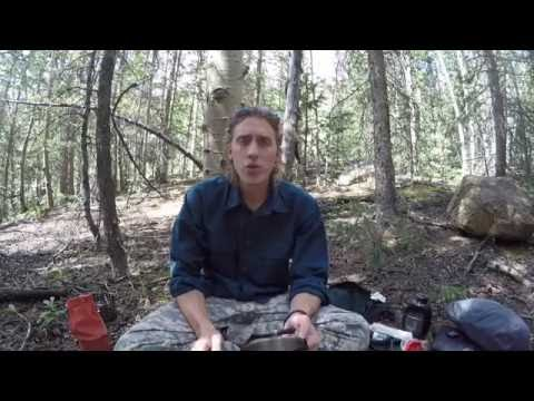 Cleaning a camping pot | Survival | camping | hiking | campfire | backpacking | Cooking