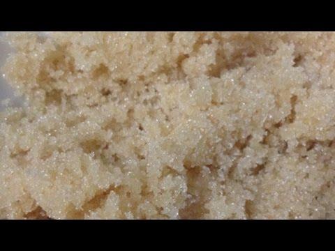 Вопрос: Как сделать скраб из коричневого сахара?