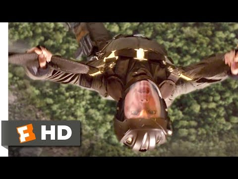 Stealth 2005   Clipped Wing Scene 7/10 | Movieclips