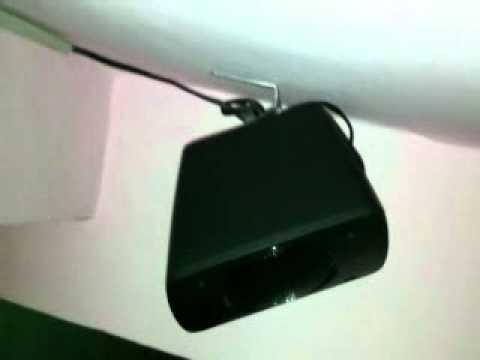 wall mounted logitech z906.mp4 - YouTube
