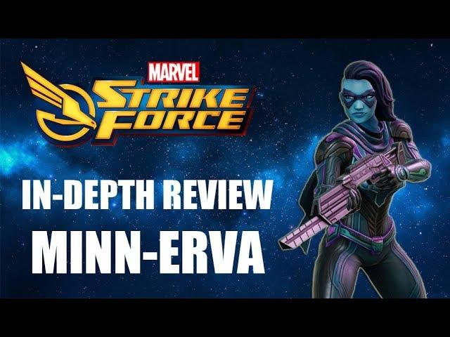 Minn-Erva In-Depth Review - Marvel Strike Force