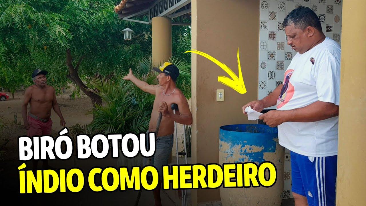 BIRÓ BOTOU ÍNDIO COMO HERDEIRO E DÔDÔ FICOU AZEDO