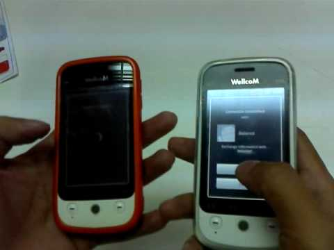 Android 2.1 Eclair on WellcoM A88 Bump Phonebook App