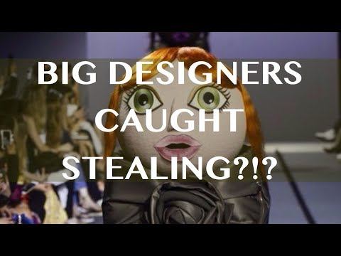 VIKTOR & ROLF STEAL IDEA FROM DESIGN STUDENT?!