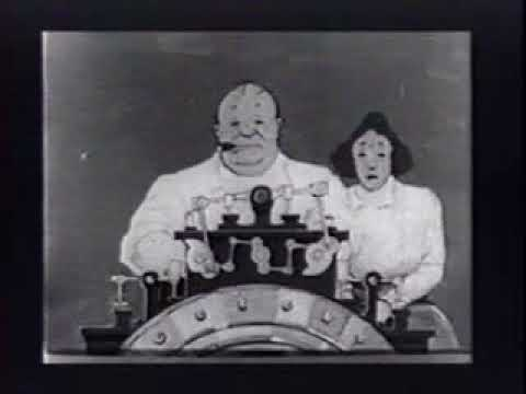 Dreams Of A Rarebit Fiend (The Flying House) (Winsor McCay) (1921)
