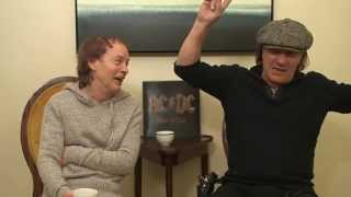 "AC/DC ""Rock Or Bust"" Canadian World Album Premiere (unedited interview)"
